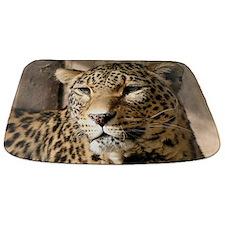 Unique Leopard Bathmat