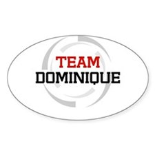 Dominique Oval Decal