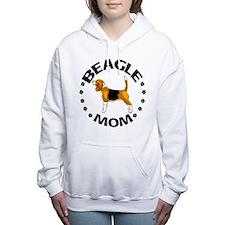 Beagle Mom Women's Hooded Sweatshirt