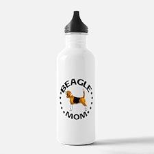 Beagle Mom Water Bottle