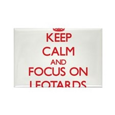 Keep Calm and focus on Leotards Magnets