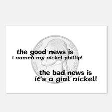 Philip the Nickel Postcards (Package of 8)