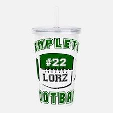 Templeton Football -custom- LORZ 22 Acrylic Double