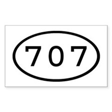 707 Oval Rectangle Decal