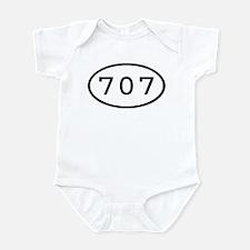 707 Oval Infant Bodysuit