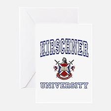 KIRSCHNER University Greeting Cards (Pk of 10)