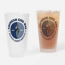 American Civil War Drinking Glass