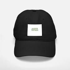 raised on vegetables Baseball Hat