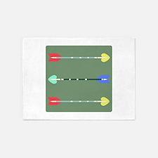 Arrows 5'x7'Area Rug