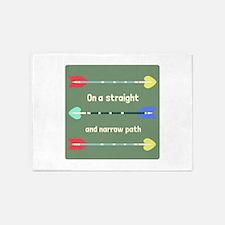 Straight And Narrow 5'x7'Area Rug