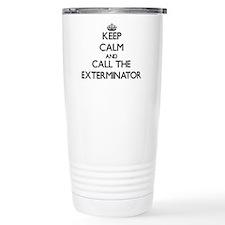 Cute Exterminator Travel Mug