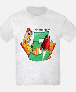 Rocket 5th Birthday T-Shirt