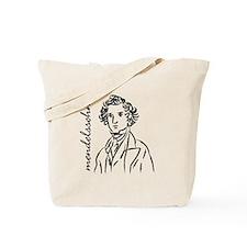 Felix Mendelssohn Tote Bag