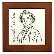 Felix Mendelssohn Framed Tile
