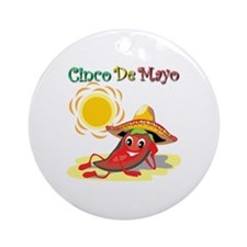 Cinco De Mayo  Round Ornament