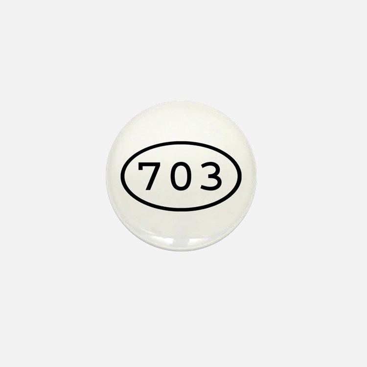 703 Oval Mini Button