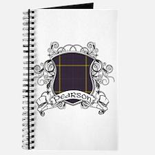 Pearson Tartan Shield Journal