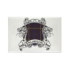 Pearson Tartan Shield Rectangle Magnet