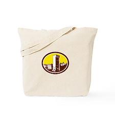 Tower of San Niccolo Florence Woodcut Tote Bag