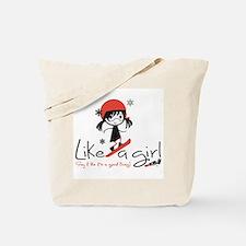 Shred Like a girl! Tote Bag