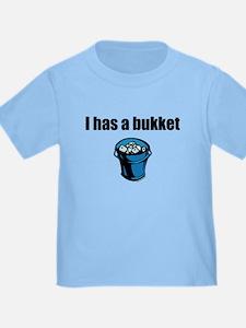 I has a bukket T
