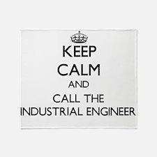 Cute Industrial engineer Throw Blanket