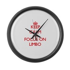 Cool Limbo Large Wall Clock