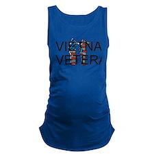 Vietnam Veteran Maternity Tank Top