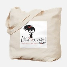 Run Like a girl! Tote Bag