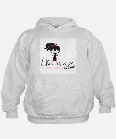 Run Like A Girl! Hoodie