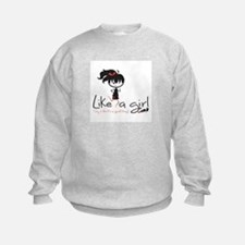 Run Like A Girl! Sweatshirt
