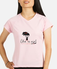 Run Like A Girl! Performance Dry T-Shirt