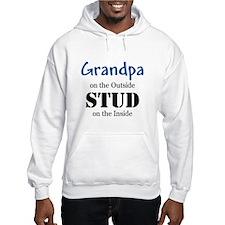 Grandpa's a stud Hoodie
