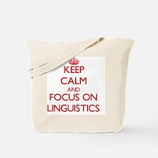 Cute Linguistics Tote Bag
