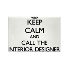 Keep calm and call the Interior Designer Magnets