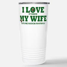 Unique Mary loves dad Travel Mug