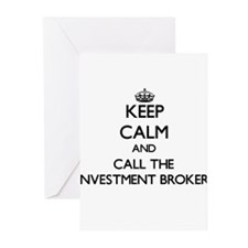 Keep calm and call the Investment Broker Greeting
