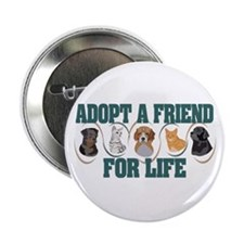 Adopt A Friend Button