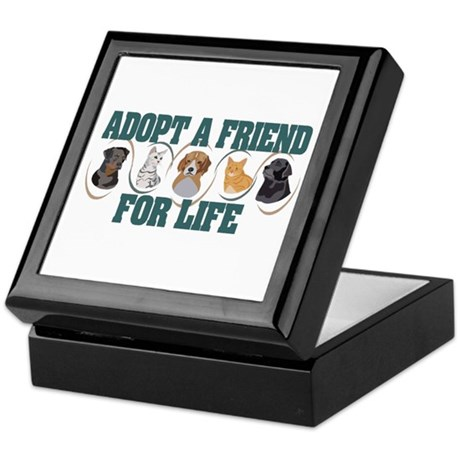 Adopt A Friend Keepsake Box