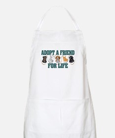 Adopt A Friend BBQ Apron