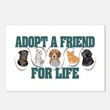 Adopt A Friend Postcards (Package of 8)