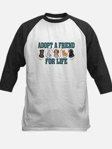 Adopt A Friend Kids Baseball Jersey