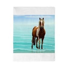 Cute Paint horse Twin Duvet