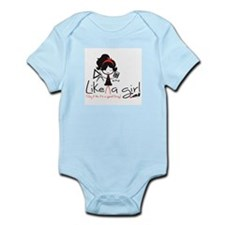 Add Like A Girl! Infant Body Suit