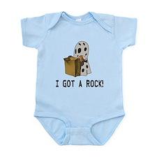 I got a rock! Infant Bodysuit