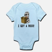 I got a rock! Infant Bodysuit