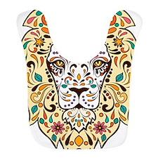 Lion Sugar Skull Design Bib