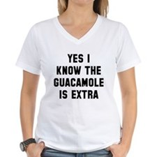 I know the guacamole is ext Shirt
