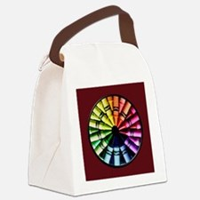 Cute Crayons Canvas Lunch Bag