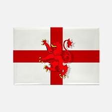 English Lion Flag Rectangle Magnet (10 pack)